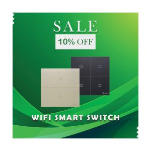 Aqua Wifi Smart Switches